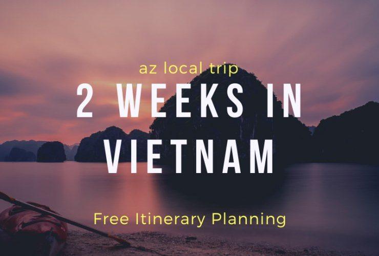 2 weeks in vietnam