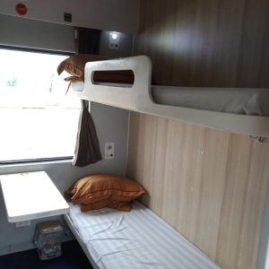 4 beds cabin on train SE1