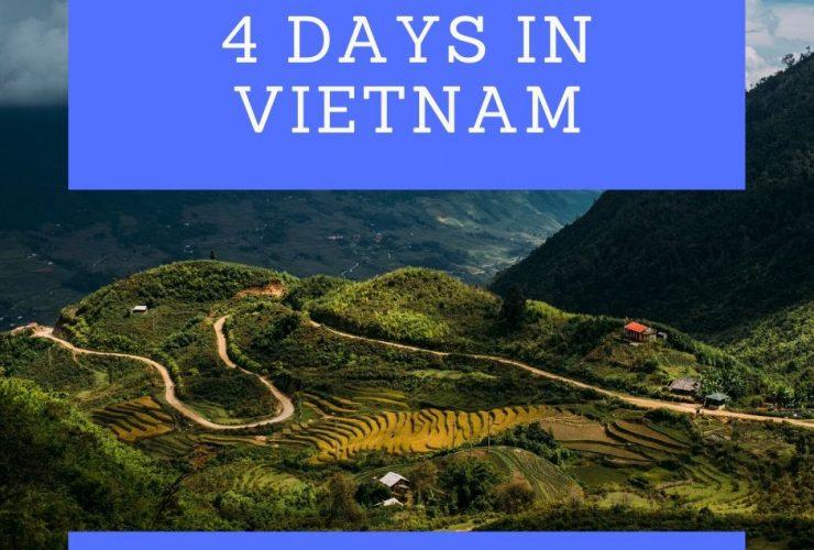 4 days in vietnam