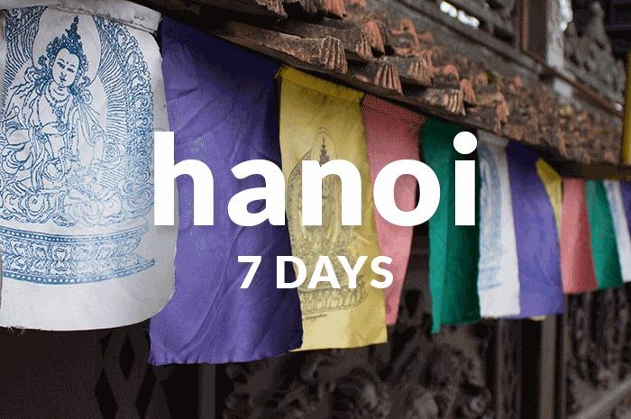 7 days in hanoi