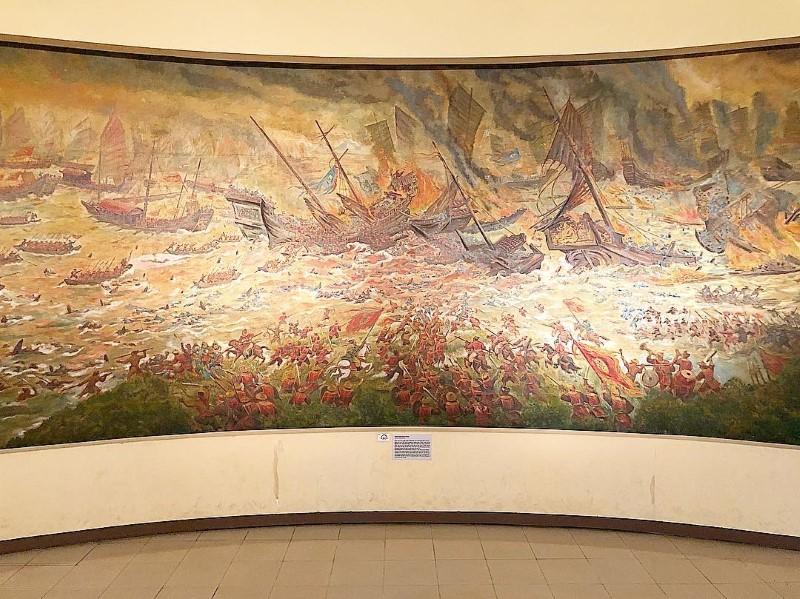 Battle of Bach Dang in 1288