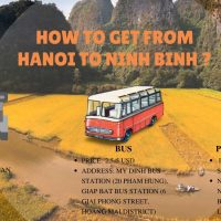 How to get from hanoi to ninh binh?