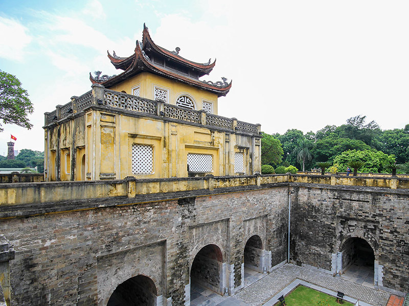 Content_What to do in Hanoi for 2 days_Imperial Citadel of Thang Long CitadelThe Imperial Citadel of Thang Long – an intriguing relic of Vietnam's history