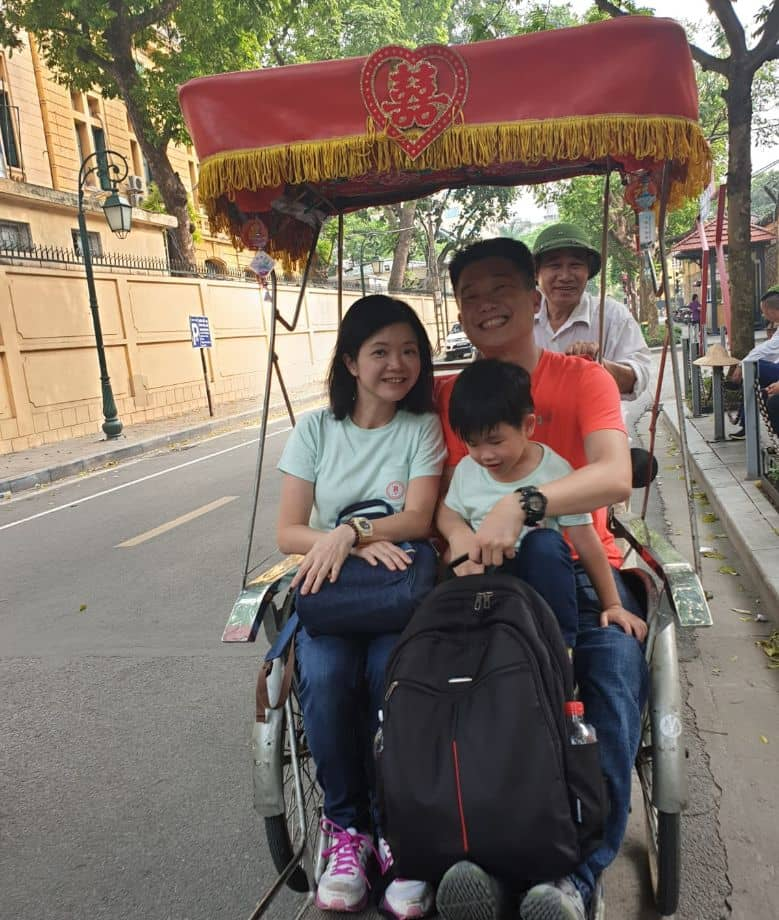 [Optional] A round of cyclo in Hanoi Old Quater