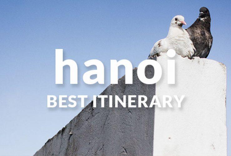Hanoi itinerary