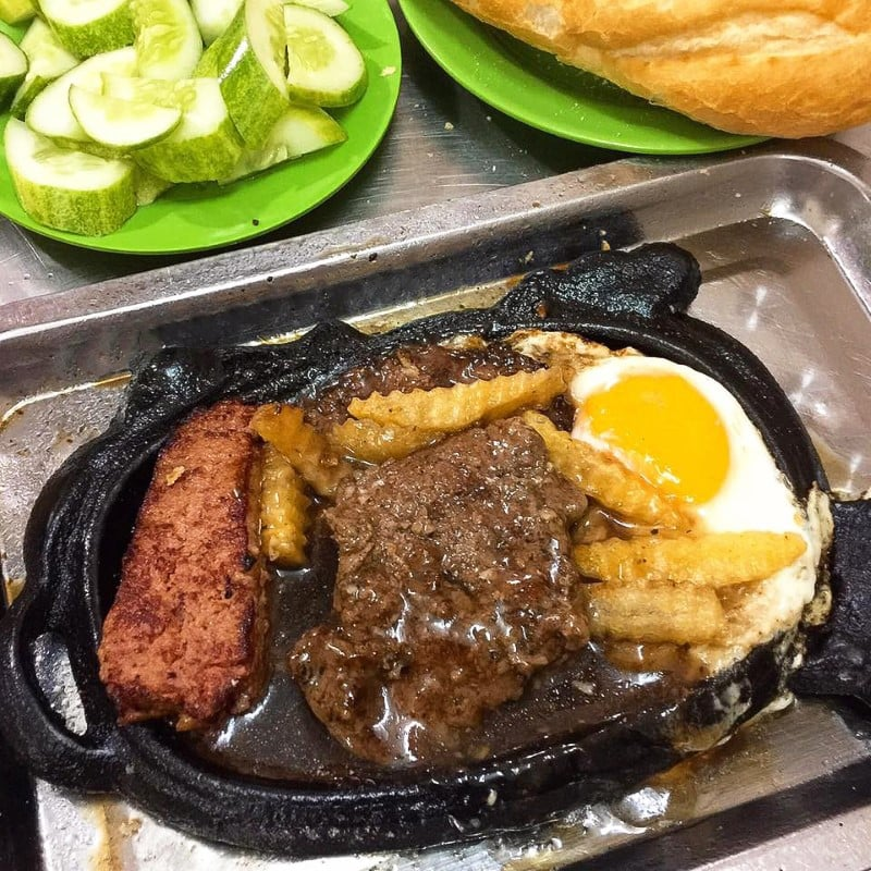 Hoe Nhai Steak