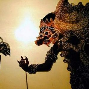 Indonesia Shadow Puppet