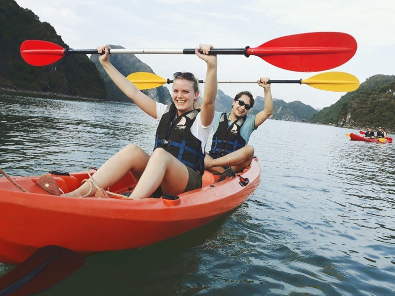 Kayaking is a highlight activity of this tour
