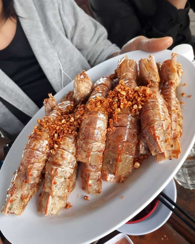 shrimp cat ba