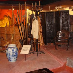 Some artifacts of Ho Chi Minh president