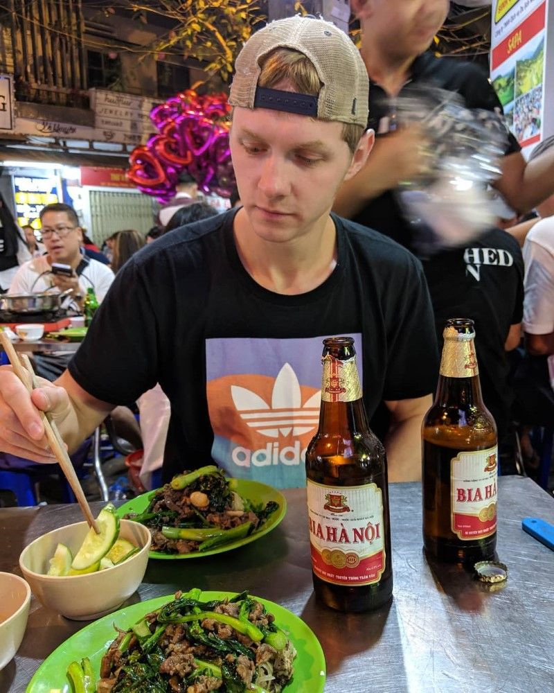 Street Food Adventure with Free Local Student Guide