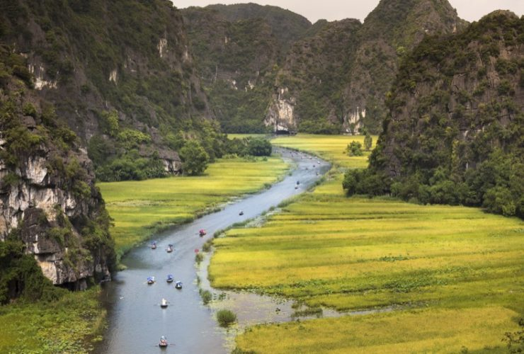 Tam Coc from may to june