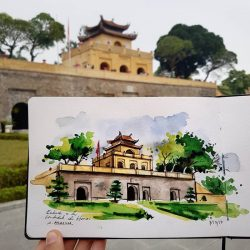 Thang Long imperial citadel in Hanoi- Cultural heritages recognized by UNESCO