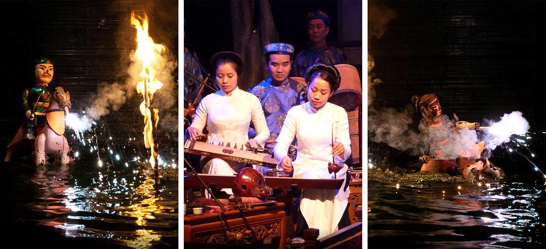 Thang Long water puppet show
