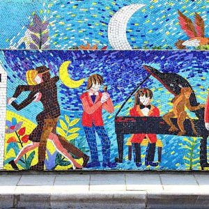 The World's Largest Mosaic Mural
