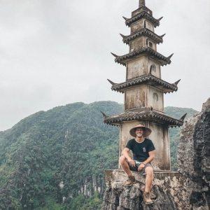 The landscape of Ninh Binh