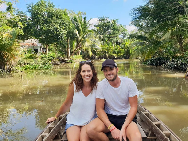 Visiting Mekong Delta – Cai Be floating market