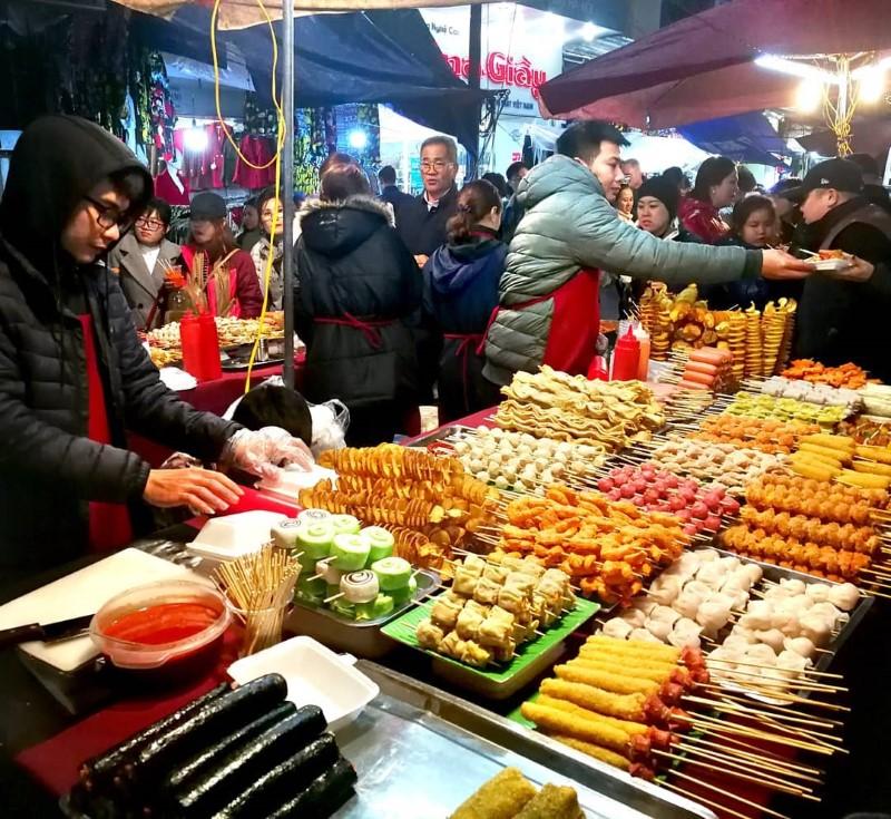 Weekend Night Market Hanoi