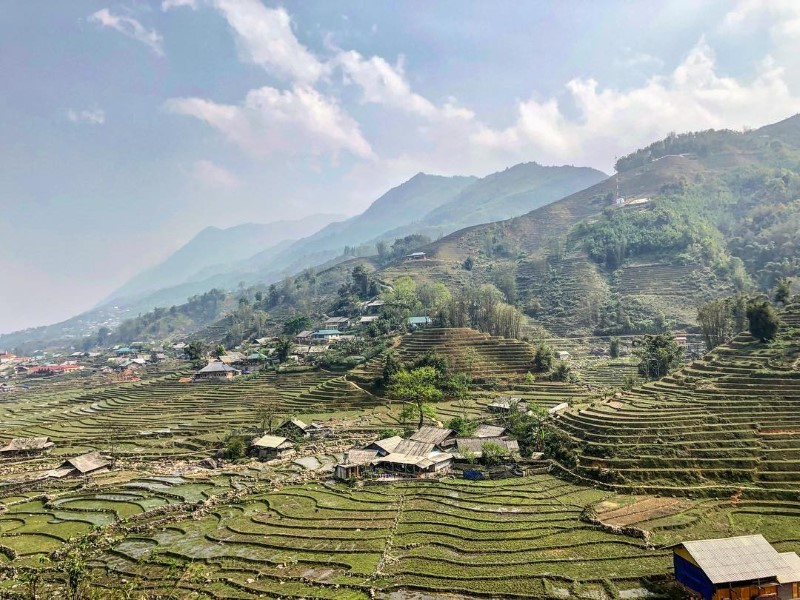 Day 4: Sapa Trekking: Lao Chai - Ta Van Village - Back To Hanoi