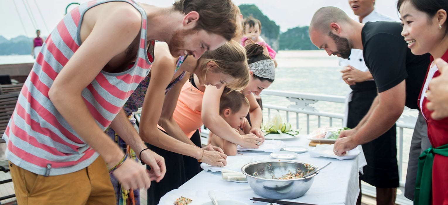 Cooking Demonstration and Sunset Party