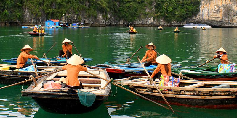 A visit to Vung Vieng village