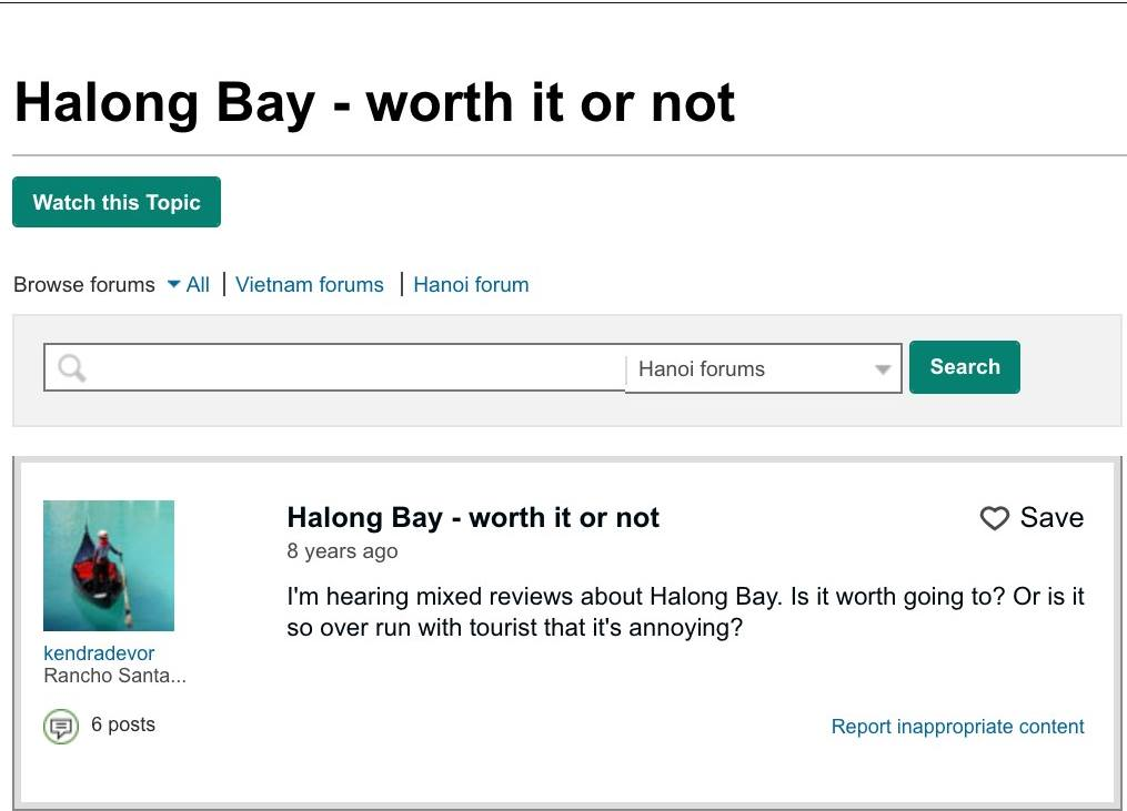 is it worth visiting Halong Bay