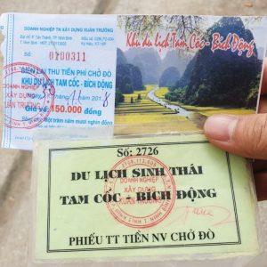 tam coc entrance fee