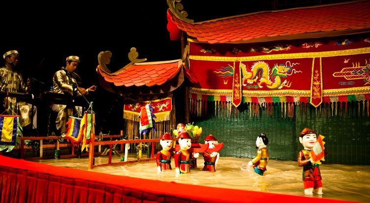 [Optional] Water Puppet Theatre (Only available for the afternoon tour)