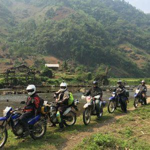 motorbike in ninhbinh