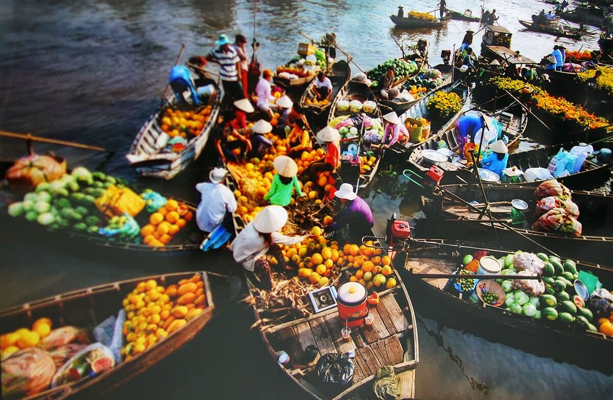 Day 9 - Cai Rang Floating Market - HCMC