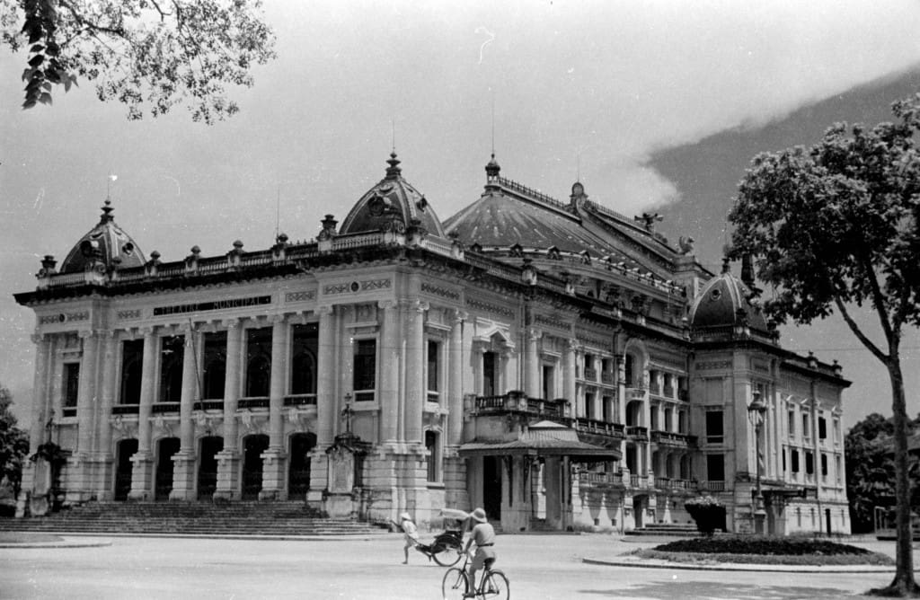hanoi opera house past