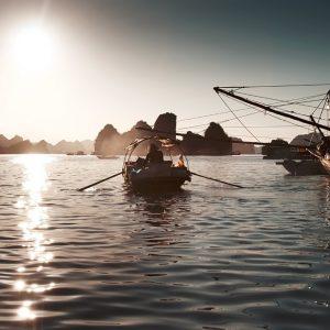 daily life in cua van fishing village