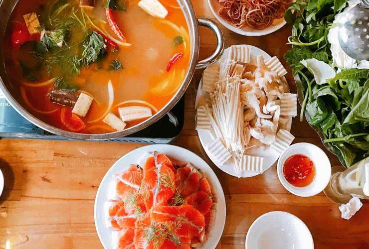 salmon hot pot sapa