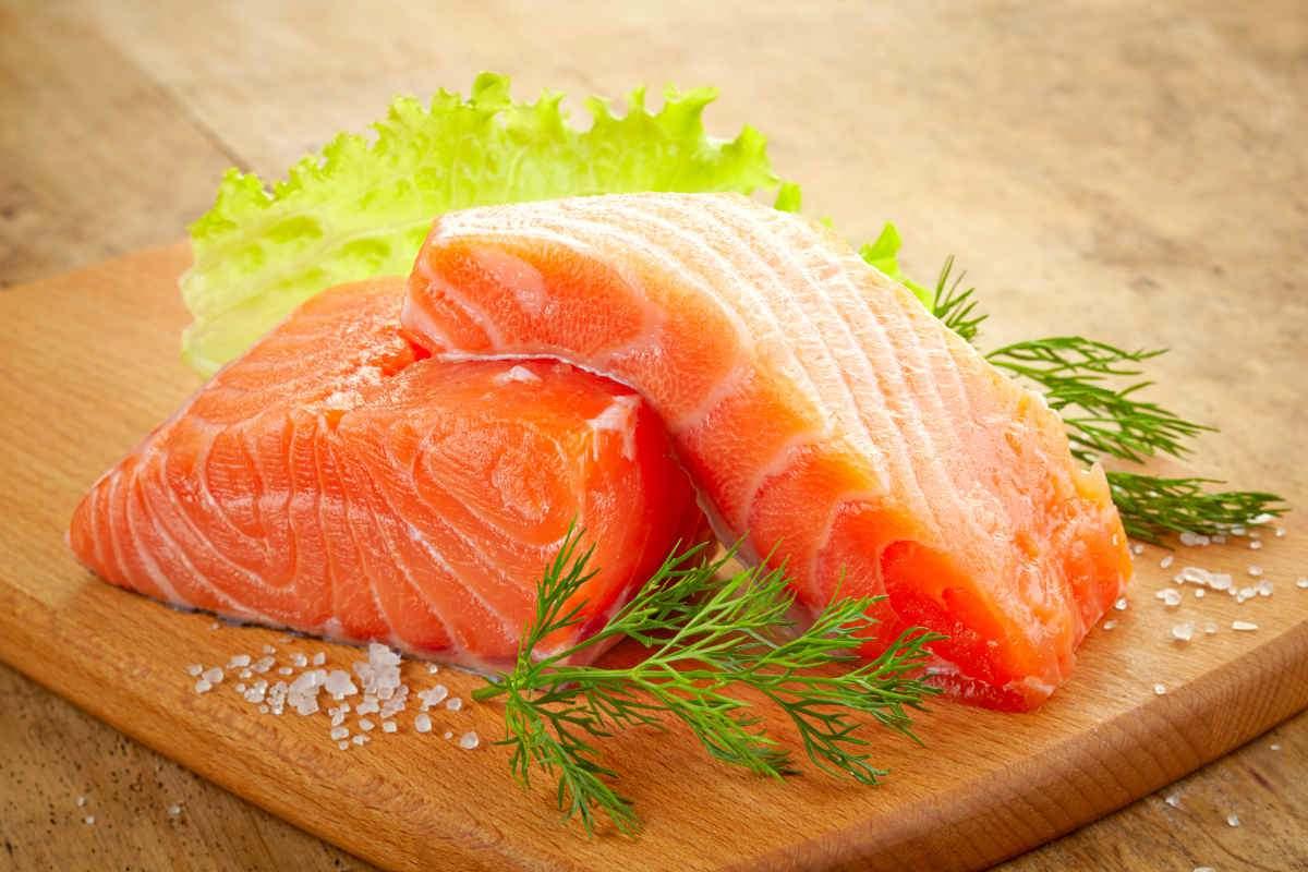 food in sapa salmon